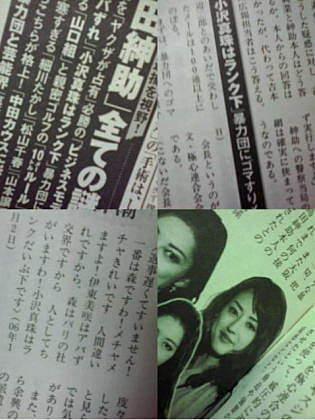 週刊新潮 2011年9月の記事